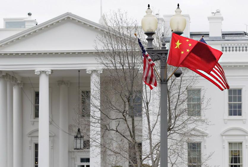 中国国家主席胡锦涛抵达美国