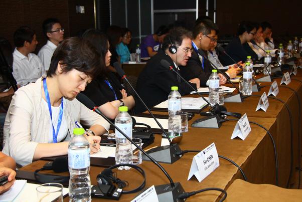 海外投资人士参与_会议图集