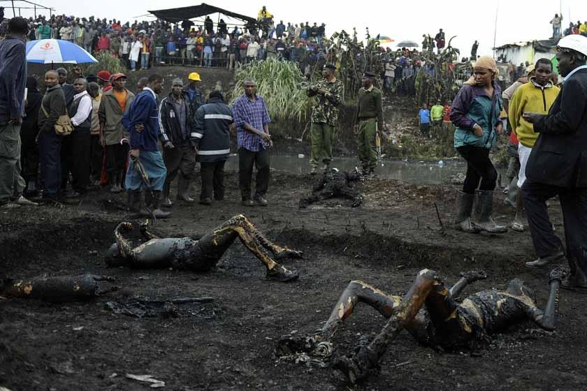 印度新德里12月天气_肯尼亚输油管道爆炸 至少120人死_图片频道_财新网