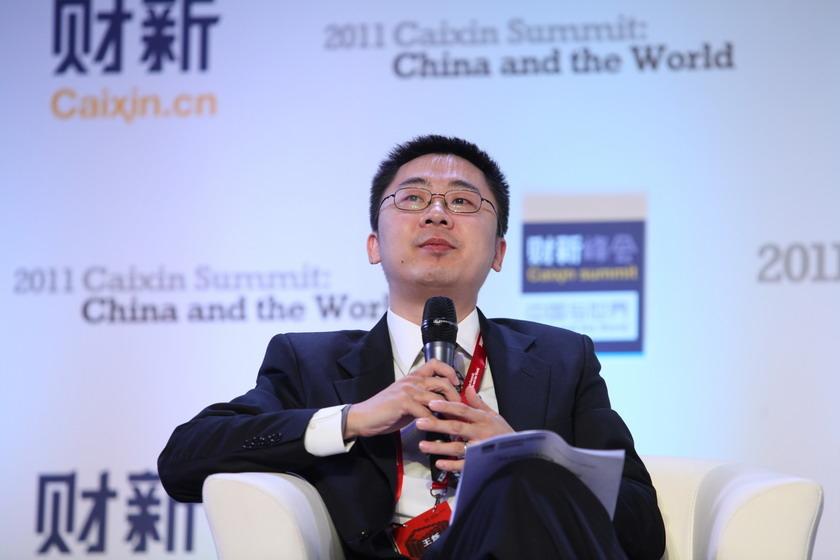 11月11日,北京,财新传媒主编王烁。 财新记者 牛光/摄_议题:全球治理与中国角色