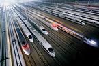 中国高铁终出口 首单12列300公里动车组开进墨西哥