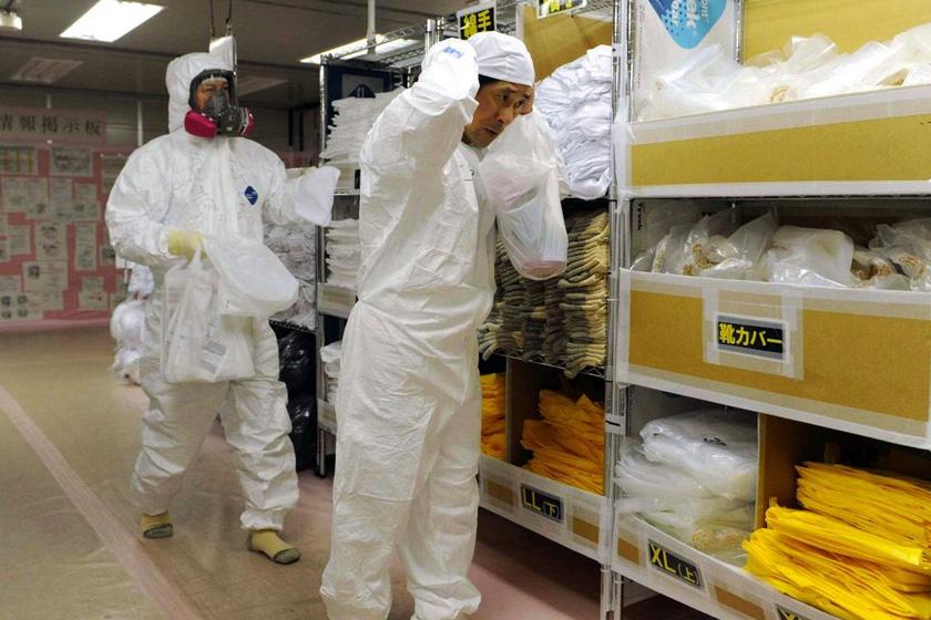 福岛核电站震后第二次向媒体开放