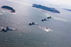 中国空军在东海防空识别区巡逻