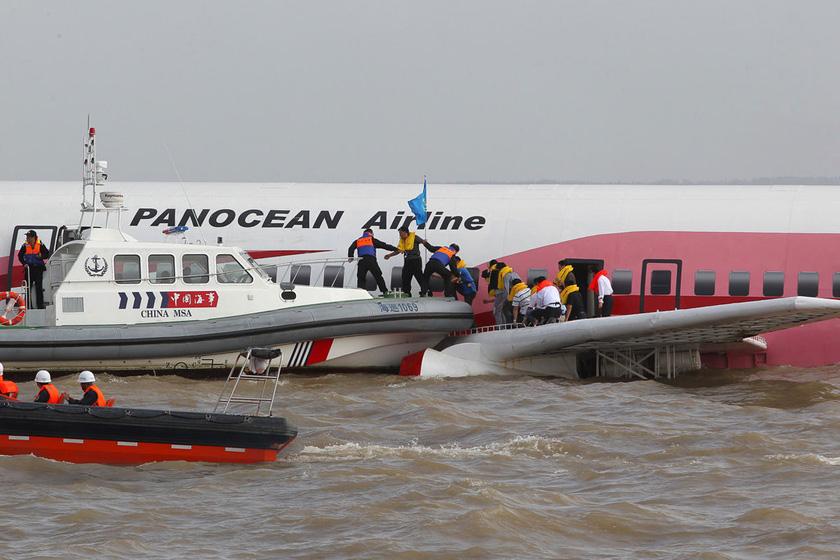 中国首次民用航空器遇险联合搜救演习举行