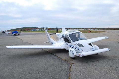美国特拉弗吉亚公司研发的世界首辆会飞的汽车