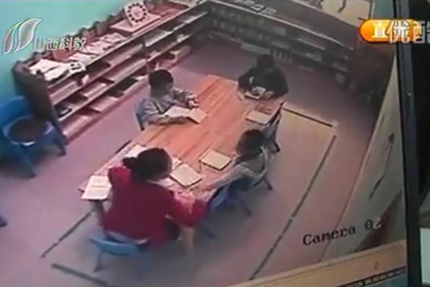 太原五岁女童被幼儿园老师扇70耳光