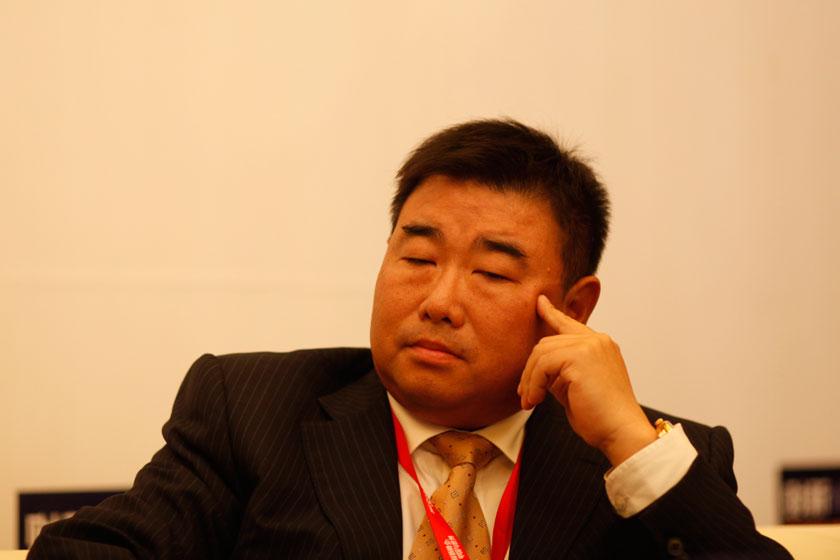 11月16日,京东商城集团CMO蓝烨。   王攀/财新记者_电商:死而后生?
