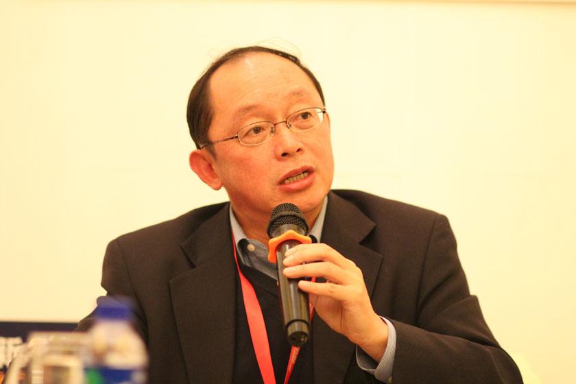 11月16日,宽带资本董事长田溯宁。   王可/财新记者_议题:PE的问题