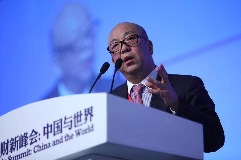 11月17日,高盛高华证券有限公司董事长、厚朴投资董事长方风雷讲话。   牛光/财新记者_议题:中国经济新增长