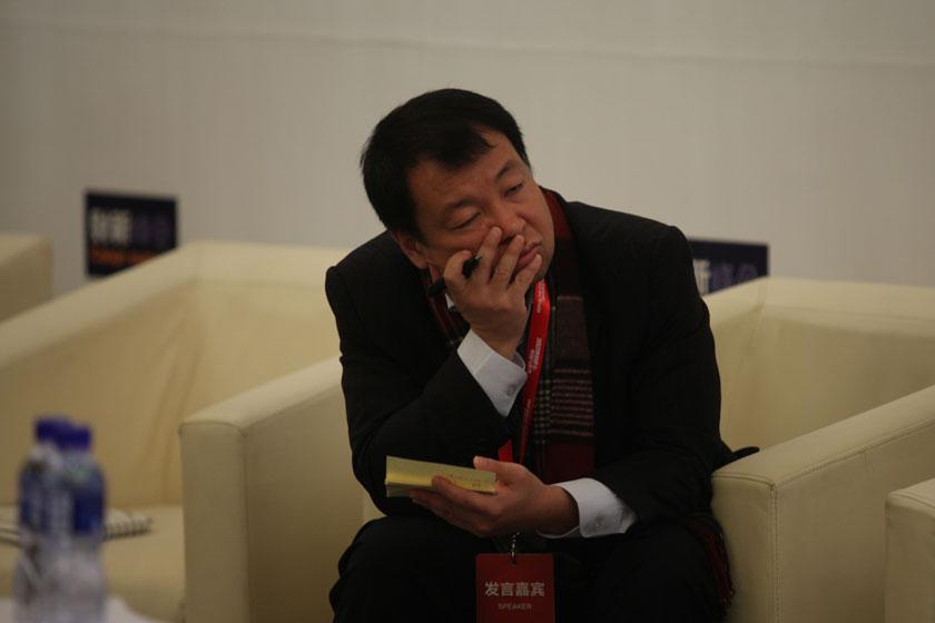 11月17日, PPTV网络电视传媒集团首席执行官陶闯。   牛光/财新记者_议题:企业的机会与抉择