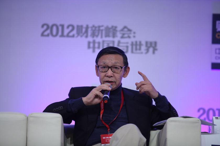 11月17日,中国银行业监督管理委员会副主席蔡鄂生。     牛光/财新记者_议题:银行改革下一步