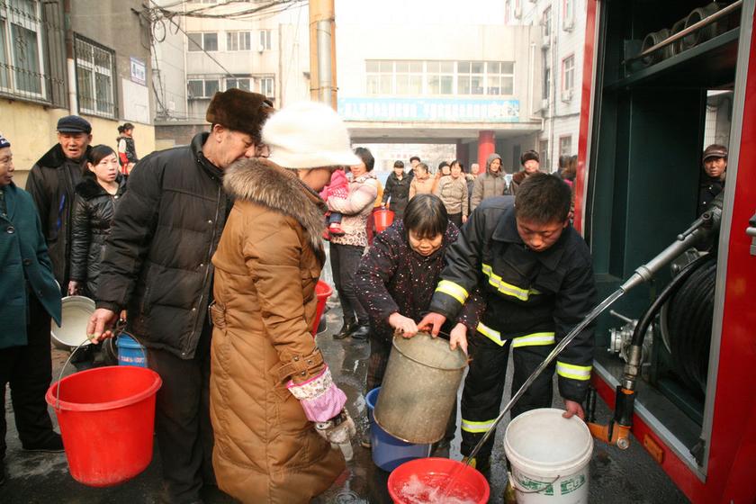 山西水污染致河北邯郸大面停水