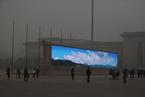 中国雾霾吹到洛杉矶