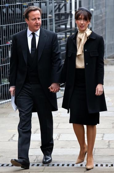 参加葬礼_英国为撒切尔夫人举办隆重葬礼_图片频道_财新网