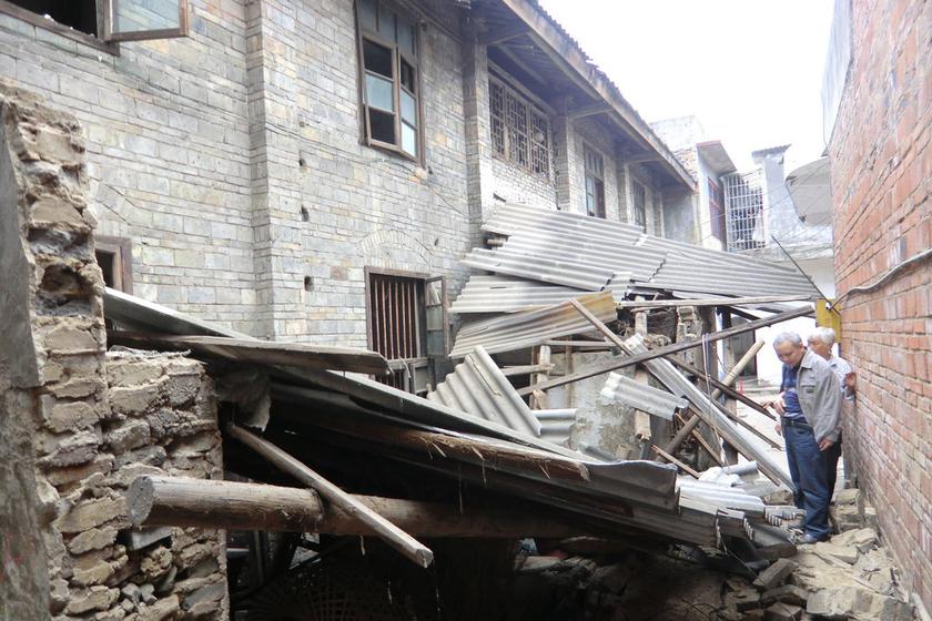 四川宜宾发生4.8级地震图片