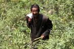 陕西一男子在峭壁山洞里生活20年