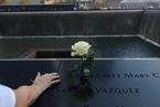 """美国民众纪念""""9·11""""事件十二周年"""