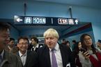 伦敦市长体验北京地铁一号线