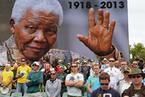 世界各地民众悼念曼德拉