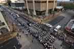曼德拉遗体被移送至联合大厦  沿长街接受瞻仰