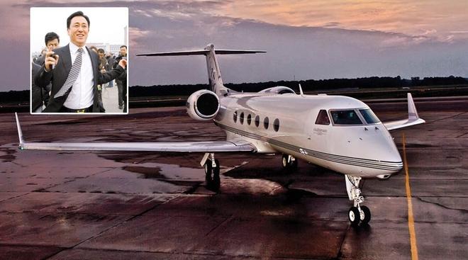 拥有私人飞机的中国富豪