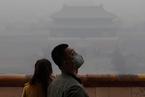 牛光摄影:北京雾霾天