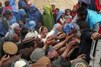 阿富汗山体滑坡致2700人死亡 灾民争抢救济品