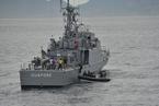 巴西海军军演为世界杯决赛护航