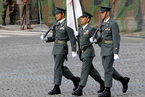 日本自卫队参加法国国庆日阅兵