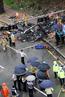 韩国一架直升机市中心坠毁 5人死亡