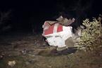 法国国防部公布阿航坠毁客机现场图