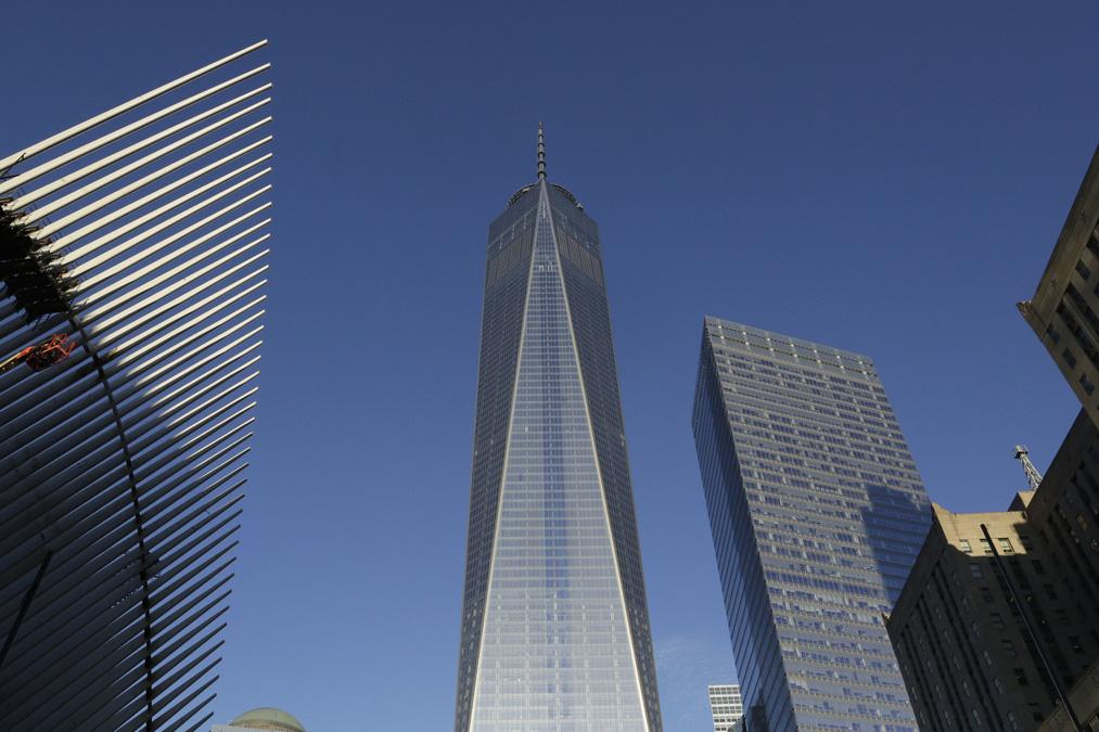 美国纽约新世贸中心一号楼开门营业