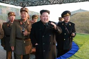 金正恩指导朝鲜人民军联合训练