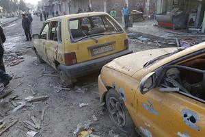 叙利亚政府军空袭ISIS大本营