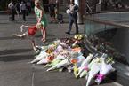 澳大利亚民众悼念劫持事件遇难者