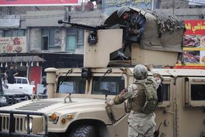 阿富汗发生自杀爆炸袭击