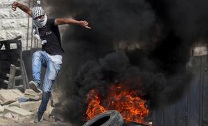 巴勒斯坦人示威 抗议犹太极端分子袭击