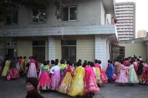 朝鲜全民彩排 迎接劳动党成立70周年阅兵