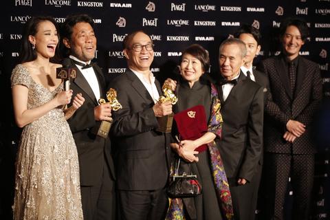 2015年11月21日晚,第52届台湾电影金马奖揭幕,《刺客聂隐娘》夺得包括最佳影片、最佳导演、最佳摄影、最佳造型设计、最佳音效在内的五项大奖,成为最大赢家。 Maxim Antonov/东方IC
