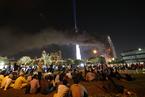 跨年夜迪拜哈利法塔附近酒店失火 致1死14伤