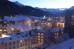 走进瑞士小镇达沃斯 冬日银装素裹