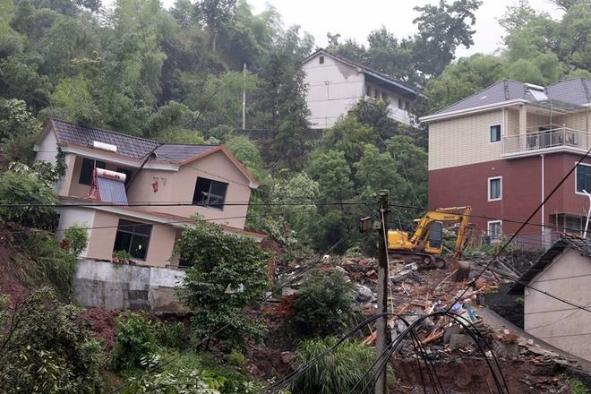 杭州建德发生山体滑坡 5人遇难6人失联