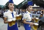朝鲜举办第一届啤酒节