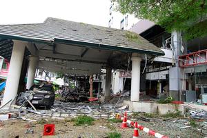泰国南部一旅馆附近爆炸 致1死30伤