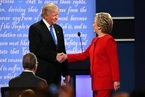美国总统辩论谁是赢家?民调结果大相径庭
