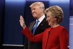 大选辩论希拉里完胜,只因更像总统?