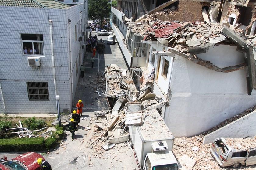 盘点近年来房屋坍塌事故