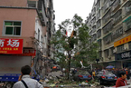 湖南永兴城一居民楼发生爆炸 致3死6伤
