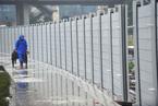 """中国版""""防洪神器""""在武汉启用 拦水高度达30米"""