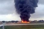 一架小型客机在马耳他坠毁